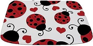 CafePress Ladybug Lover Decorative Bathmat, Memory Foam Bath Rug