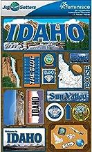 Reminisce Jet Setters 2 3-Dimensional Sticker, Idaho