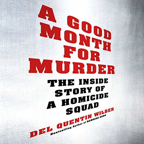 A Good Month for Murder audiobook cover art