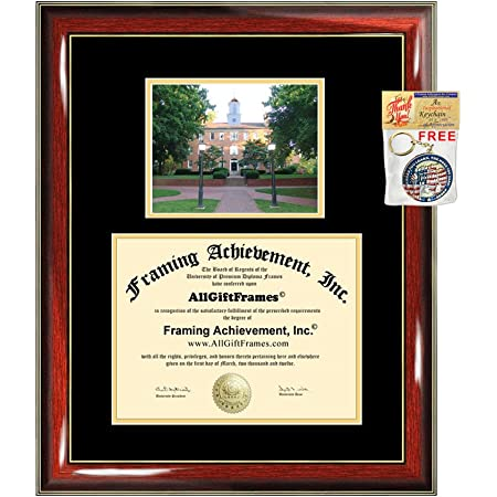 Amazon Com Ohio University Diploma Frame Graduation Degree Matted Campus College Photo Graduation Certificate Document Double Holder Case Bachelor Master Phd Doctorate Plaque Framing Graduate Gift