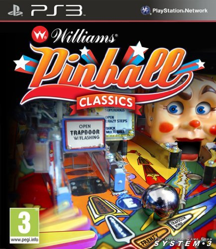 Williams Pinball Classics PS3 by Nioxin