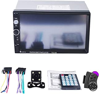JKoYu Car Stereo and Car Accessories 7023B 7 Inch Full HD Double Din Car Bluetooth Touch Screen Stereo Radio MP5 Player - ...