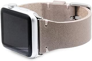 SLG Design Apple Watch 42mm 44mm用 バンド 本革 ブッテーロレザー ベージュ アップルウォッチ ベルト series1 series2 series3 series4対応【日本正規代理店品】