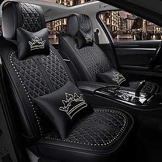 Auto sitzbezüge Wasserdichte Leder Autositzbezug Vorne und Hinten 5 Sitze Komplettsatz Leicht zu reinigen Universal for Audi A3 / A4 / A5 / A6 / A8 / Q3 / Q5 / RS4 (Farbe : C)