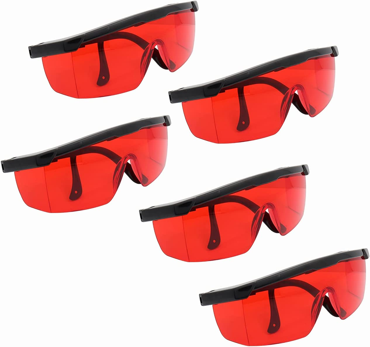 Baltimore Mall 5PCS Dental Red Eye Protection Goggles for Laser Dealing full price reduction Glasses