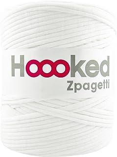 DMC Hoooked Zpagetti フックドゥ ズパゲッティ リサイクルヤーン 超極太 (ロットにより色の変更あり) #White ホワイト 約 120m DMC800