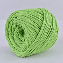 Ialwiyo 3mm 328ft 4 Strand Softer Colorful Polyester Macrame Cord Rope  Twisted Craft Macrame String   DIY Home Textile Decorative   Wall Hanging Plant Hanger Craft Making Supply (Green, 3mm)