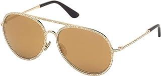 Tom Ford Lunettes de Soleil ANTIBES FT 0728 ROSE GOLD/BROWN 59/15/135 femme