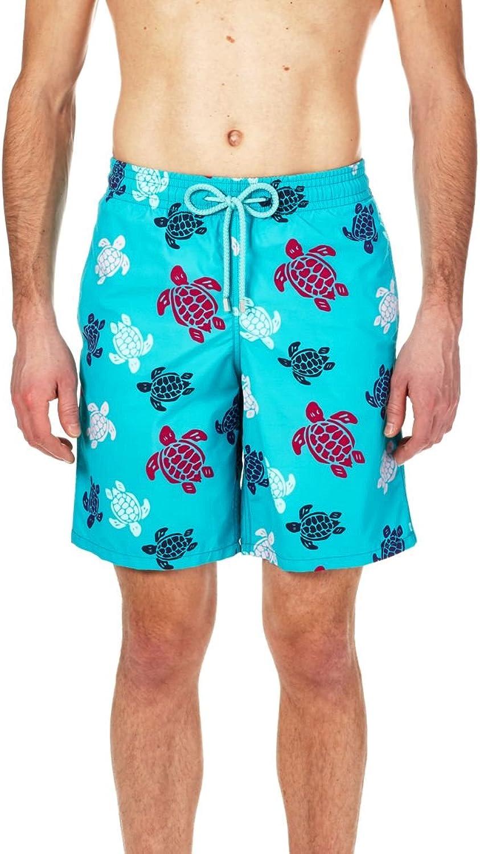 Vilebrequin  Men Long Swimwear Multicolor Turtles