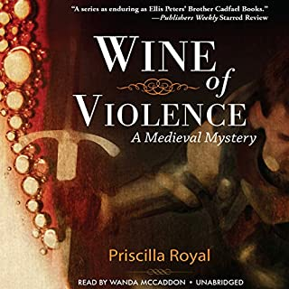 Wine of Violence audiobook cover art
