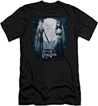 Corpse Bride Animated Romance Movie Burton Poster Adult Slim T-Shirt Tee