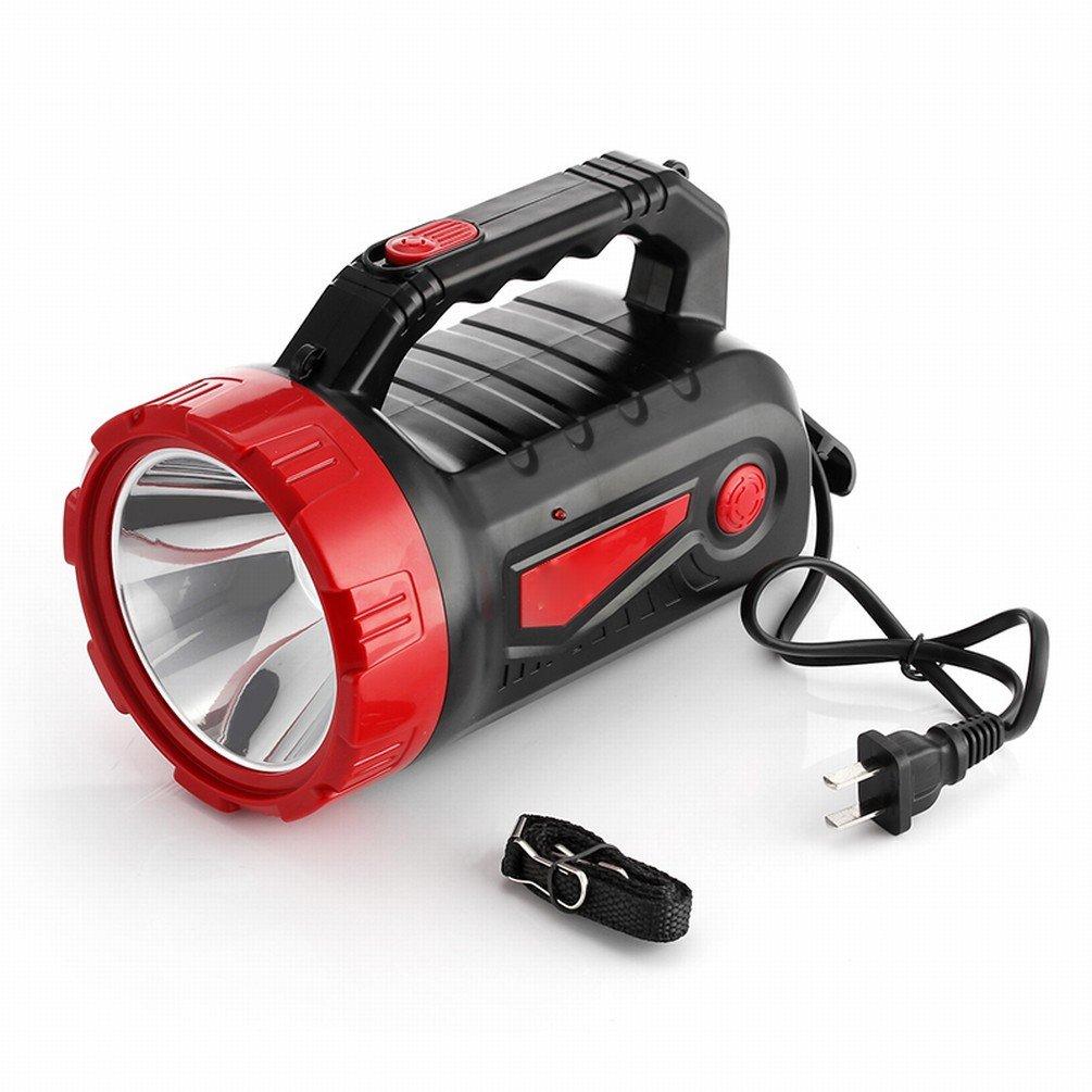 LED-el feneri kann şarj edilebilir uzun mesafeli-vatan acil durum Outdoor  Patrol taşınabilir ışık Suchscheinwerfer: Amazon.com.tr