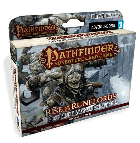 Paizo PAI06003 - Kartenspiele, Pathfinder, Hook Mountain Massacre Adventure Deck