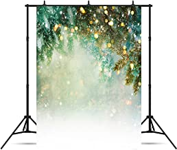 Christmas Bokeh Photography Backdrop Xmas Gold Glitter Background Winter Family Holiday Portrait Birthday Party Decorations Photo Studio Prop