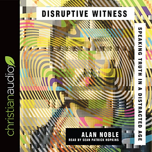 Disruptive Witness audiobook cover art