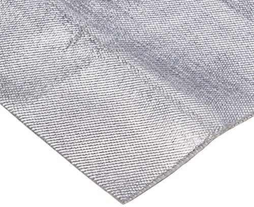 Aluminum & Fiberglass Heat Shield Barrier with Adhesive Backing 12'x39' (3.3 Sq. Ft)