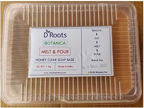 Roots D Roots Botanica Honey Clear Soap Base - 1 KG