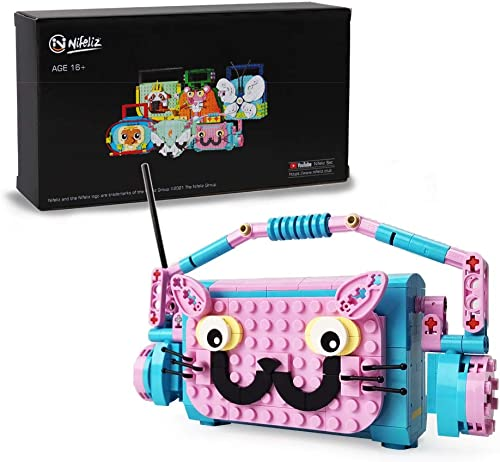 popular Nifeliz Little outlet online sale Bag Kitty Building Blocks and popular Learning Toy, Animal Toy, The Perfect Present for Kids Who Love Portable Playsets,New 2021(334 Pcs) outlet online sale