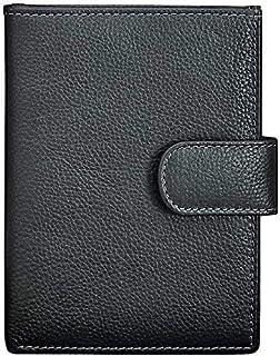 Santhome Geniune Leather Black Wallet | Passport Wallet | Card Holder | Passport Holder| by Santhome