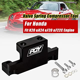 PQY Valve Spring Compressor Tool Removal for Honda Acura K Series K20 K24 F20C F22C Black