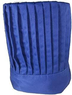 Hibachi Chef Hat With Tie Teppanyaki (Blue)