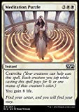 Magic: the Gathering - Meditation Puzzle (019/269) - Magic 2015 - Foil by Wizards of the Coast