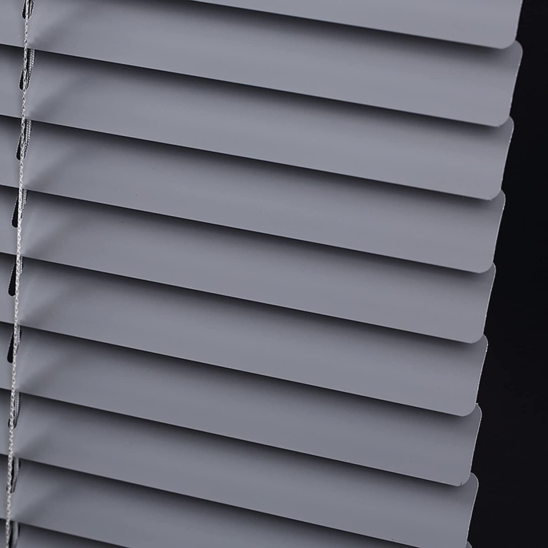 Grey Aluminum Venetian Blinds Popular overseas Horizontal Max 42% OFF Privacy Blackou