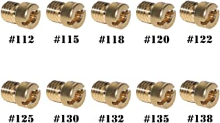 GTSpeed CVK 112/115/118/120/122/125/130/132/135/138 Carburetor Main Jet Kit