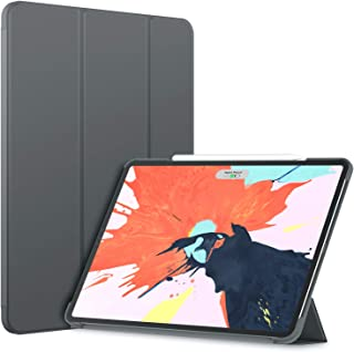 JETech Case for iPad Pro 12.9-Inch 2018 Model (NOT for 2020 Model), Compatible with Pencil, Cover Auto Wake/Sleep, Dark Grey