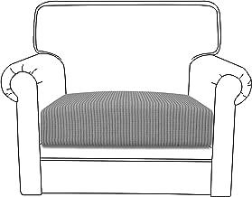 Easy-Going Stretch Cushion Cover Sofa Cushion Furniture Protector Sofa Seat Sofa slipcover Sofa Cover Soft Flexibility with Elastic Bottom(Chair Cushion,Light Gray)