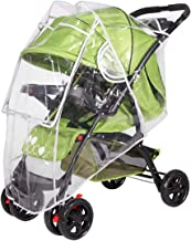 SONARIN Protector de lluvia Universal para Silla de paseo,buena circulación del aire,Burbuja de Lluvia Protector,fácil montaje, sin PVC