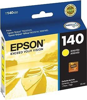 Cartucho Original Epson 140 Amarelo, Epson, T140420AL, Amarelo