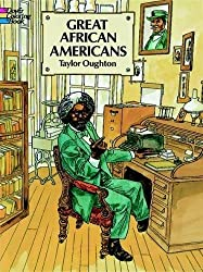 Great African Americans in History Coloring Book