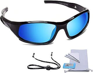 AODUOKE Sports Polarized Kids Sunglasses For Boys Girls...