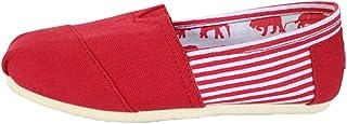 Dooxi Hommes Femmes Décontractée Plat Loafers Chaussures Mode Confort Couleur Unie Espadrilles