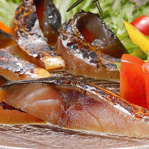 ディメール 鯖の冷燻 金撰 半身1枚約130g以上 ●農林水産大臣賞受賞 表面は香ばしく、中はしっとりジューシー生ハム食感な鯖の燻製
