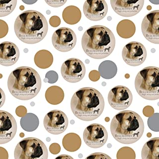 GRAPHICS & MORE Bullmastiff Dog Breed Premium Gift Wrap Wrapping Paper Roll