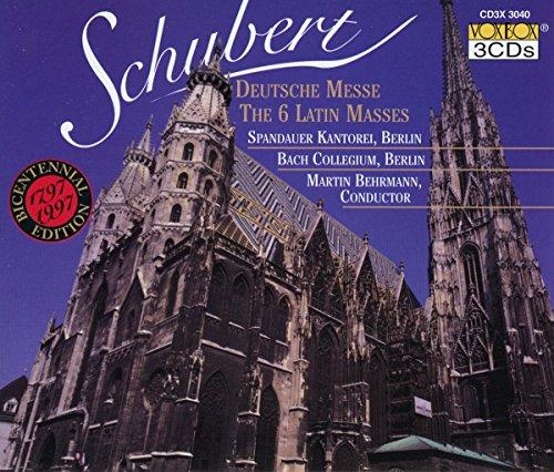 Schubert Deutsche Messe u.a.