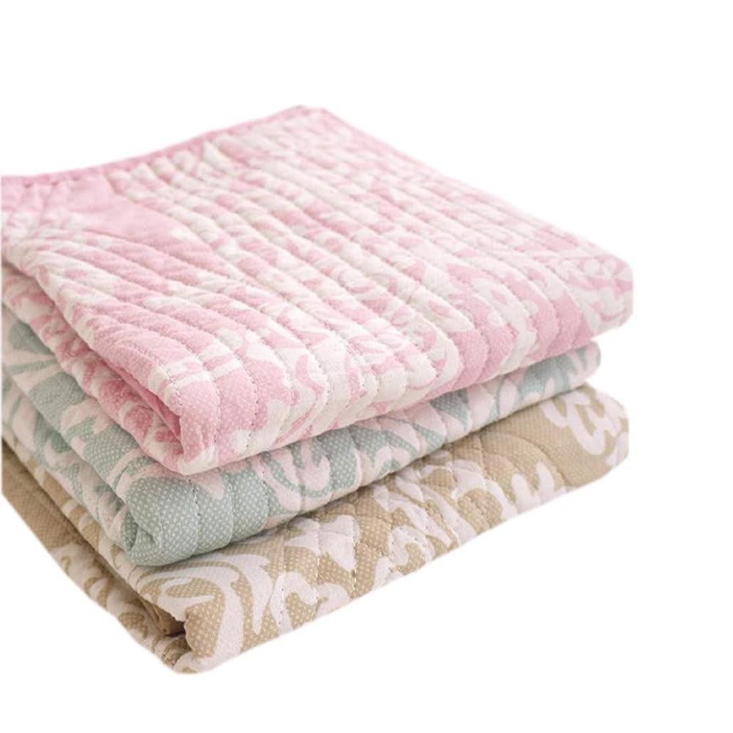 複雑な確認してください抑制する枕パッド 43×63cm 綿100% ガーゼキルト 16802 ベージュ