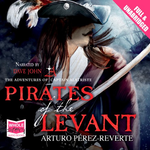 The Pirates of the Levant audiobook cover art