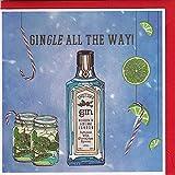 Hatched Art Christmas Card Special Edition 2 - Tarjeta de Navidad (5 unidades), diseño de Merry