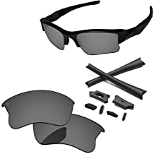 9a197b7f25 PapaViva Lenses Replacement  amp  Rubber Kits for Oakley Flak Jacket XLJ