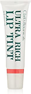 Clark's Botanicals Ultra Rich Lip Tint, Vanilla Flavor, Natural Moisturizers, Long Lasting, 0.35 Ounce, More Shades Available