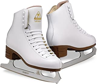 Jackson Ultima Artiste Figure Ice Skates for Womens, Girls, Mens and Boys in White and Black Colors - Improved, JUST LAUNCHED 2019