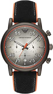 Emporio Armani Men's Chronograph Rose Gold-Tone Stainless Steel Watch AR11174