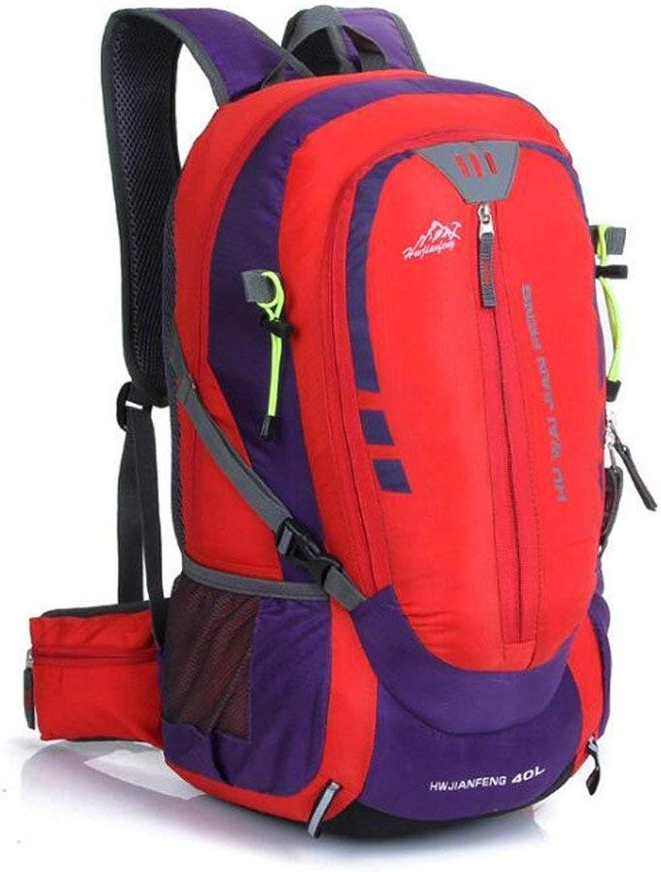 Ericcay Trekkingrucksack Outdoor Bergsteigen Tasche Und Weiblichen Sport Schultern Backpacking Stilvolle Unikat Camping Sport Paket (Farbe   D, Größe   One Größe)