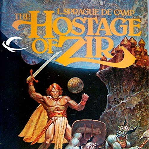 The Hostage of Zir audiobook cover art