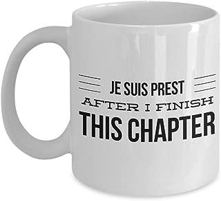Je Suis Prest After I Finish This Chapter Mug - Outlander - Jamie Fraser - I Am Ready