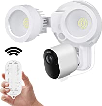 Wasserstein 3-in-1 Remote Floodlight, Charger and Mount Compatible with Arlo Pro 3/Pro 4 & Arlo Ultra/Ultra 2 - Turn Your ...