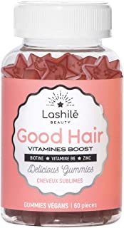 Lashilé Good Hair Vitamines Boost – Vitaminas para el pelo. 60 unidades. 150 g